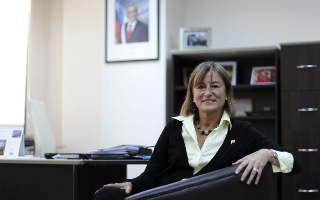 Ministra de Medio Ambiente Maria Ignacia Benitez