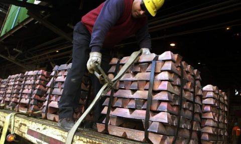 Exportaciones peruanas de cobre aumentaron 9,1% en 2012