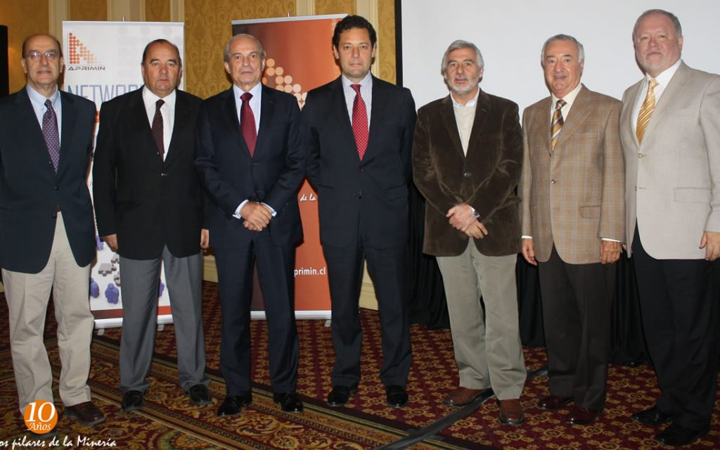 Apriminse reunió con Presidente Ejecutivo del Consejo Minero Joaquín Villarino