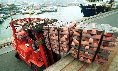 Crece la producción de cobre peruana en agosto