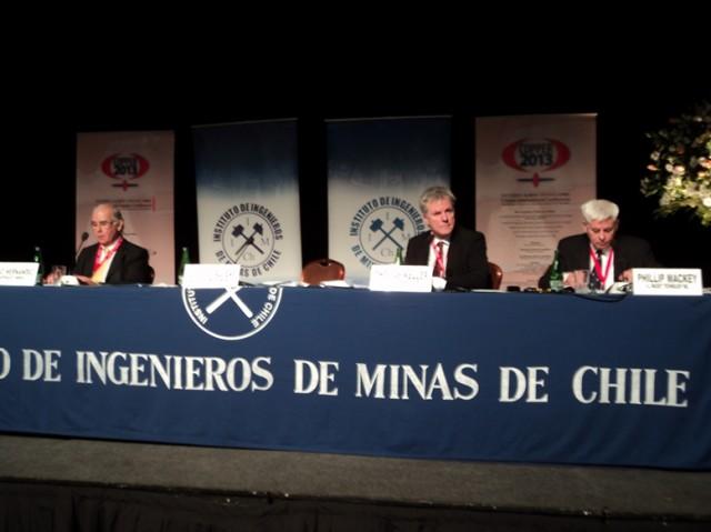 Chile es protagonista en Conferencia Internacional Copper 2013