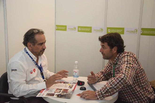 Un total de 463 empresas expositoras agendaron reuniones en el marco de las Ruedas de negocios de Exponor 2015. El balance, para la AIA, es positivo. (Foto: AIA)