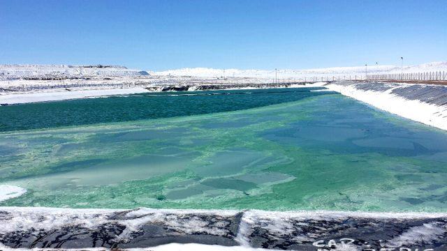 agua de mar en minería
