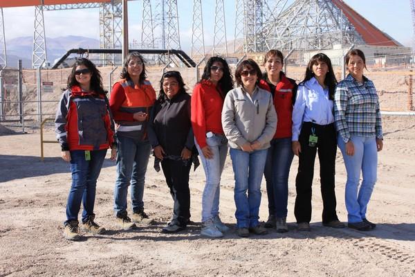 De acuerdo a datos de ministerio de Minería, actualmente la participación de la mujer en la industria es de un 8,2%. (Foto: Codelco)
