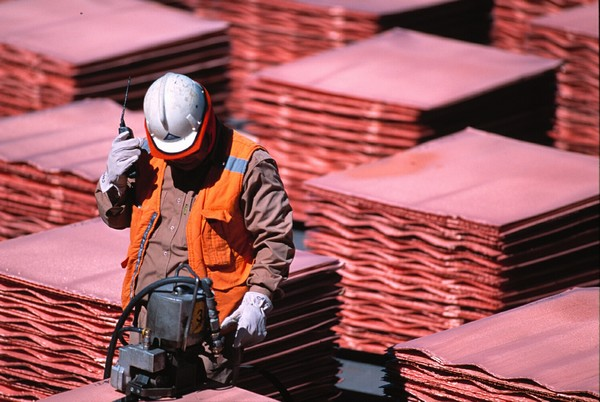 minería cobre