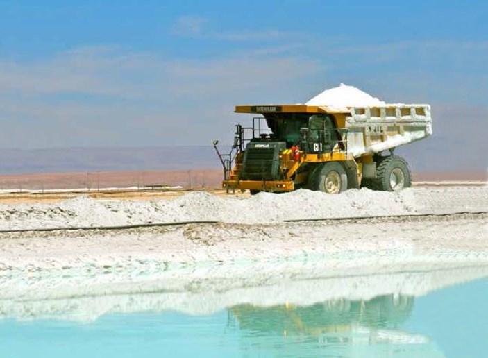 SQM, cosecha faena Salar de Atacama
