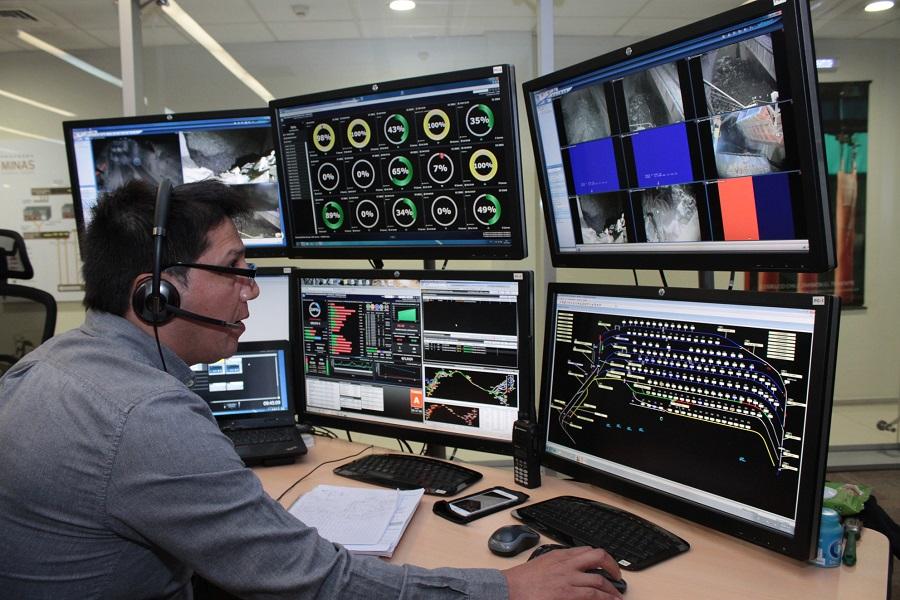 Sala CIO El Teniente Automatización