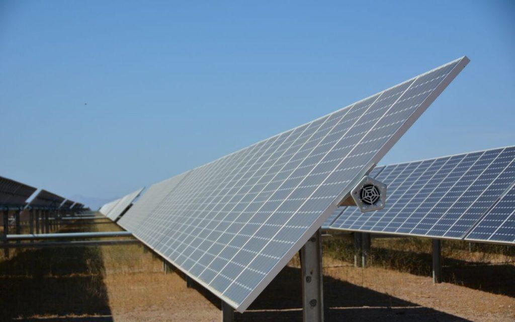 Central El Pelícano - energía solar