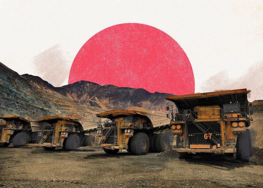 Japón minería