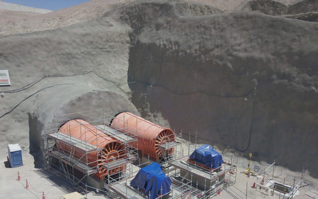 Ventilación faenas mineras