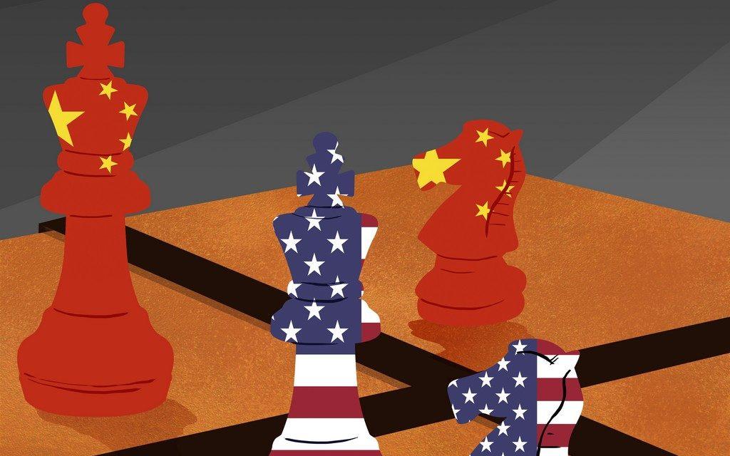 Guerra Comercial - Ilustración Fabián Rivas