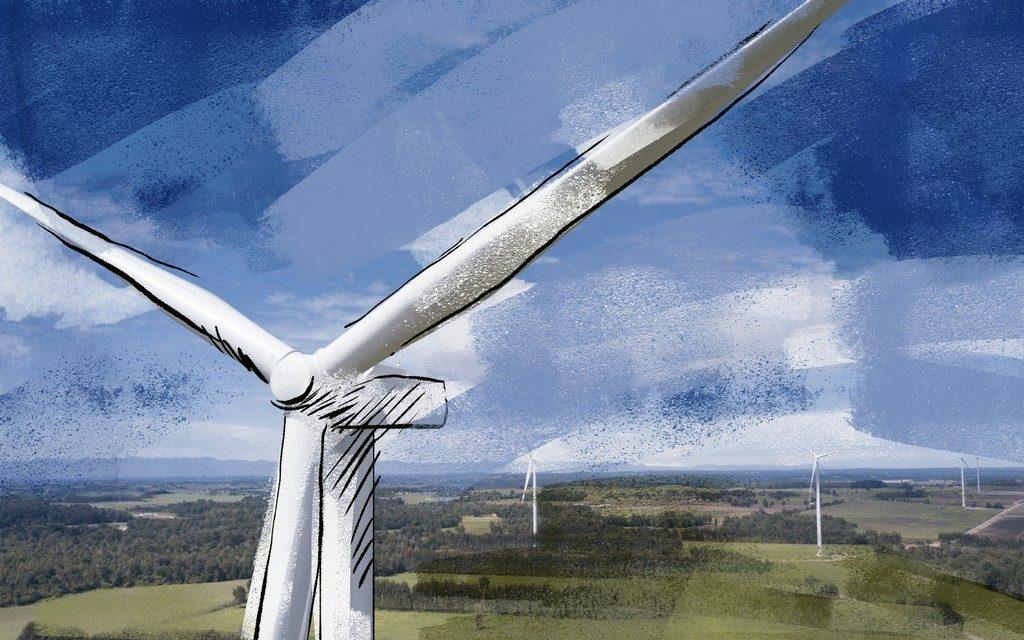 Caman - energía eólica