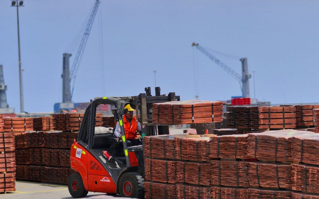 Envíos exportaciones cobre