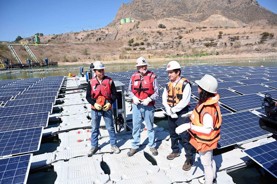 Planta fotovoltaica Las Tortolas Los Bronces 1